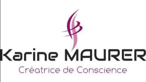LOGO Karine Maurer créatrice de conscience
