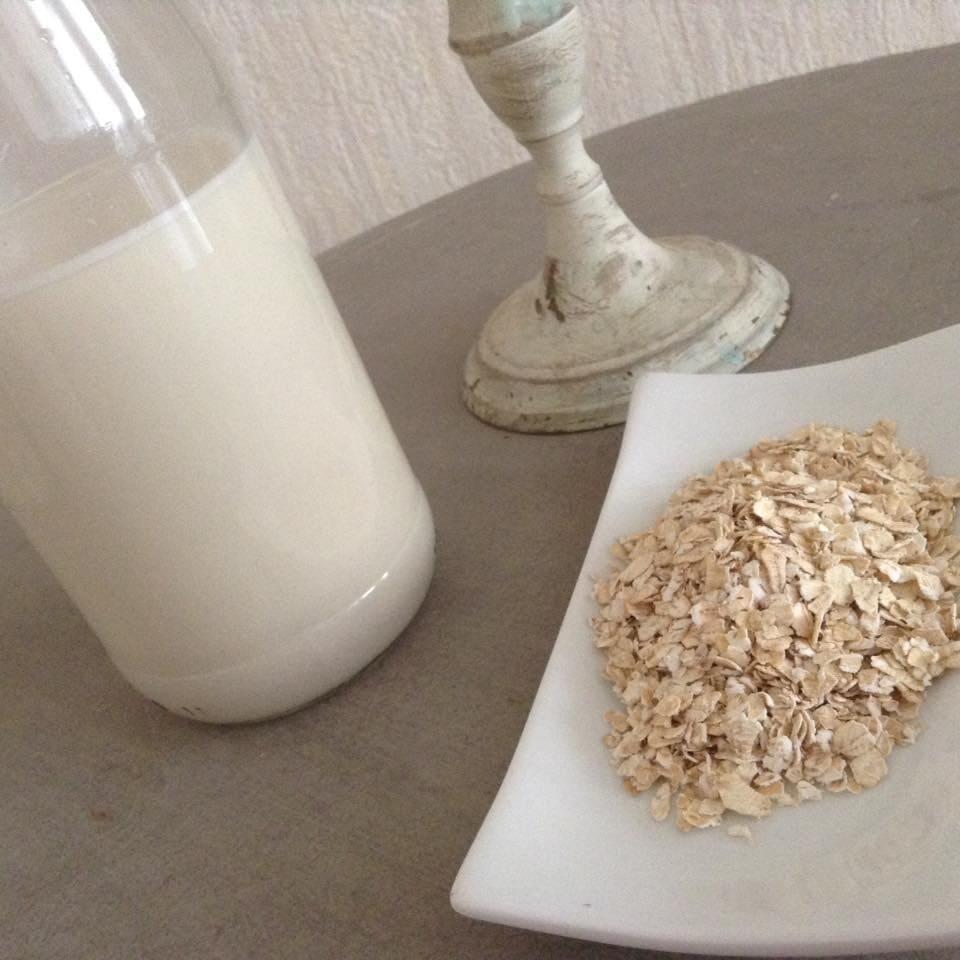 lait végétal d'avoine