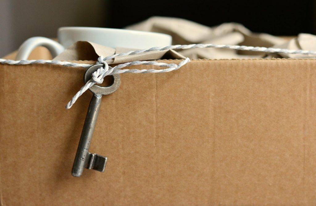 carton de déménagement, home detox, deuxième transition de vie, vivre ma vraie nature par Valérie Fernande Ortega