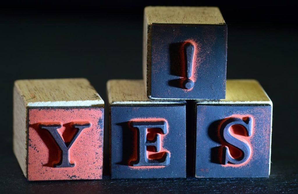 yes, la force de l'engagement dans un projet qui nous tient à coeur