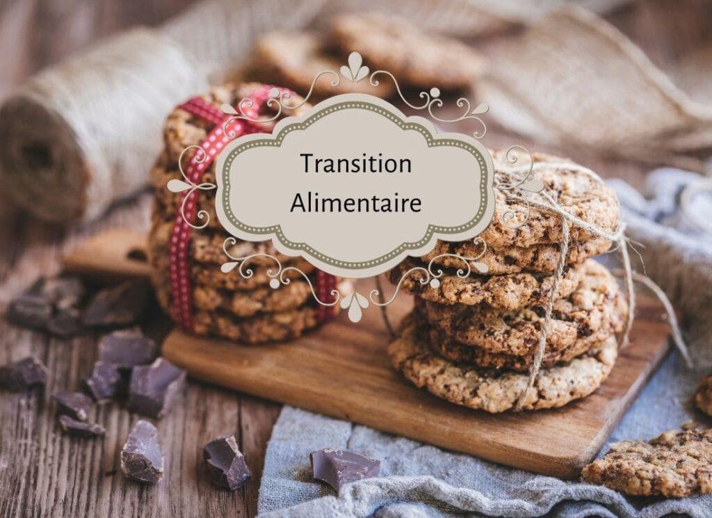 cookies tout chocolat et amandes, transition alimentaire, vivre ma vraie nature