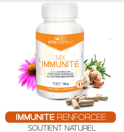 MIX immunité, vivre ma vraie nature, booster son immunité naturellement, vitanutrition
