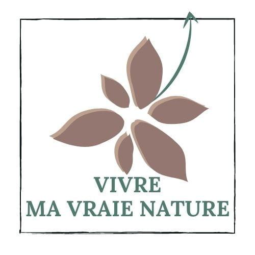 LOGO vivre ma vraie nature 2021, ikigaï, transition de vie, reconversion professionnelle