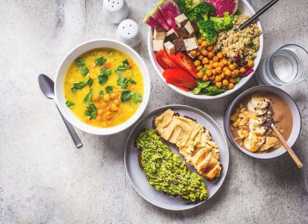 végétarisme, buddha bowl, Pourquoi manger moins de protéines animales, PST, Protéines de soja texturé, vitanutrition, végétarisme, vivre ma vraie nature, transition alimentaire